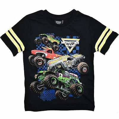 Monster Jam Short Sleeve Licensed Tshirt (Small in size) - FAST 'N' FREE POSTAGE
