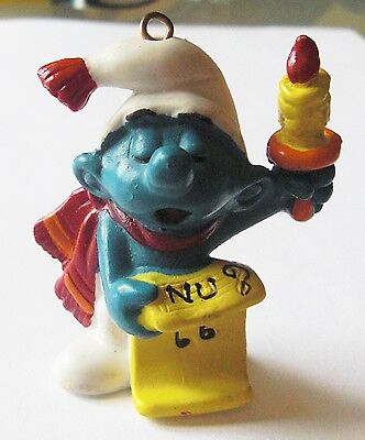 Puffi Smurf Puffo Natale Cantante 51905 Schleich