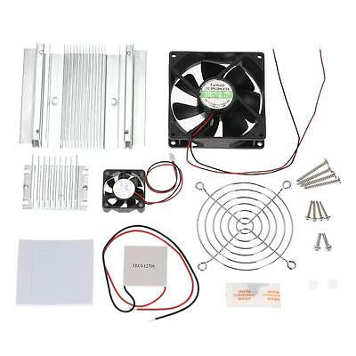 TEC1-12706 Peltier Thermoelectric Cooler Module DIY Cooling System With Fan G4H1