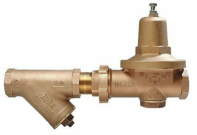 "Wilkins  2-500XLYSBR  Pressure Reducing Valve 2"" Lead Free With WYE Strainer"