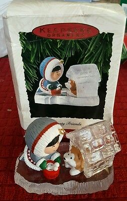 Vintage1993 Hallmark Frosty Friends Ornament 14th in Series, Free Shipping!!