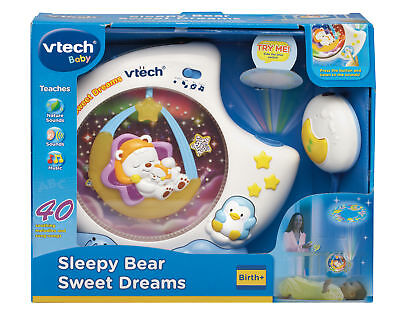VTech Baby Sleepy Bear Sweet Dreams Projector / Nightlight