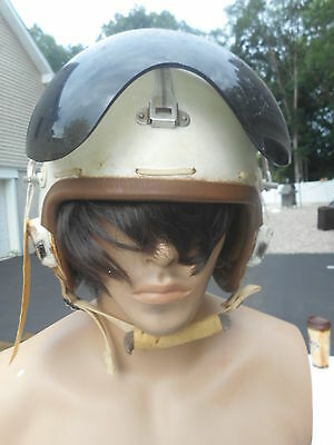 P-4B Flight Helmet size Large Dated 1959 MFG Consolidated Controls Named to