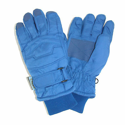 New CTM Kids' Thinsulate Lined Waterproof Winter Gloves