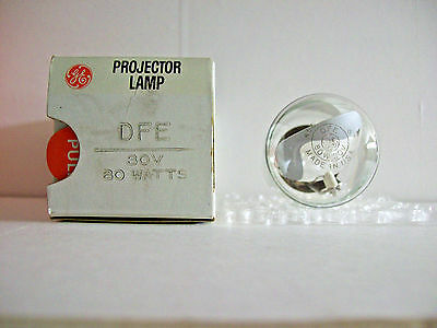 DFE Projector Projection Lamp Bulb 80W  30V GE Brand  Made in USA