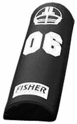 Fisher Half Round Agility Football Dummy 6 inch High Black