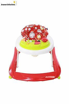 Red Kite Baby Go Round Jive Walkers 3 Height Adjustable Frame Removable Tray New