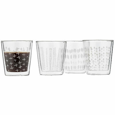 NEW Trim Espresso Glasses