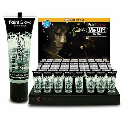 Paintglow Cosmetic Fixing Gel Glue Fixative for Loose Glitter Eyeshadow