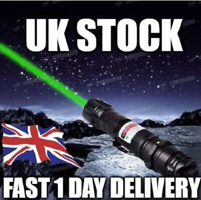 Professional 1mw 532nm 8000M High Power Green Laser Pointer Light Pen Lazer Beam