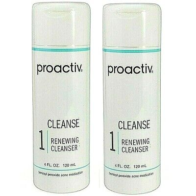 Proactiv Renewing Cleanser 2- 4oz 120 Day 8 oz proactive solution USA 6-2020 exp