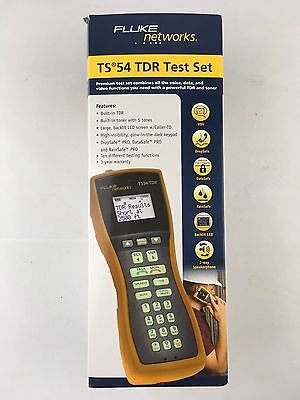 NEW Fluke Networks TS54 TDR PRO Telephone Test Set Angled Bed of Nails ABN