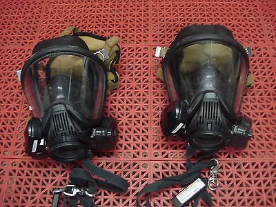 MSA Ultra Elite Full Facepiece Mask Large Nightfighter HUD Clear Command ID Tag
