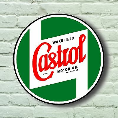 Large Retro Style 2Ft Castrol Garage Sign Wall Plaque Classic Oil Vintage Car