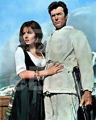 Where Eagles Dare (1968) Ingrid Pitt, Clint Eastwood 10x8 Photo