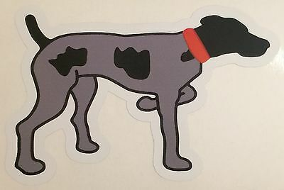GSP Southern Point Proper German Shorthair Pointer Vinyl Window Decal Sticker
