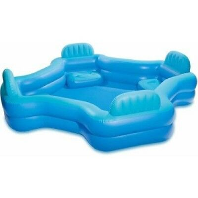 Intex Relax And Keep Cool 57191WL Swim Center Family Lounge Pool, Holds 221 Gall