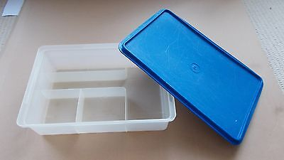REDUCED Rectangle Tupperware Travel Container with Compartments