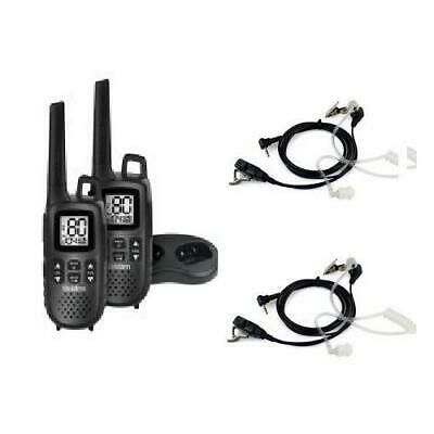 UNIDEN UH515-2 1.5W TWIN HANDHELD 80CH+2 x COVERT EARPIECES INCLUDED WITH PACK