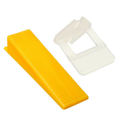 50pcs Tile Leveling System Floor Wall Tool Clip Wedger Spacer Strap Device Tool