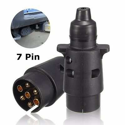 7Pin Towing Socket 12N Type Electrics Converter Adapter Plug  For Caravan Traile