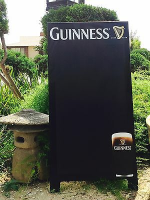 "Guinness Beer Bar Chalkboard Arth Guinness ""New"" Man Cave Pub Mirror"