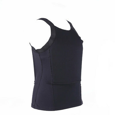 Ultra Thin T shirt Concealed Bulletproof Vest Body Armor made with Kevlar IIIA
