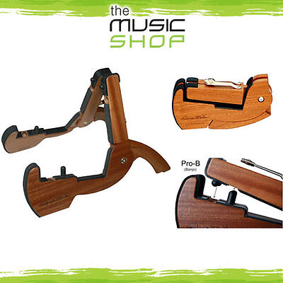 CooperStand Pro-B Folding Wooden Banjo Stand - Fits in you Case! Cooper Stand