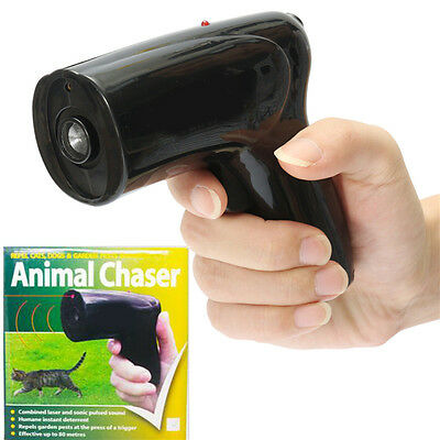 Portable Ultrasonic Dog Repeller Chaser Stop Barking Animal Protect Dog Training