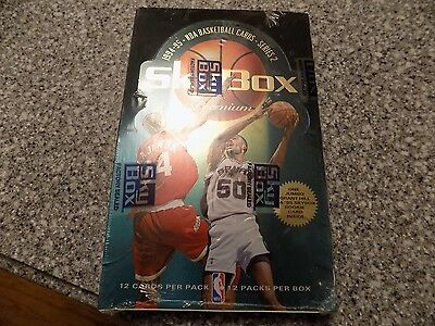 1994-95 Skybox Series 2 Wax Box SEALED 12 packs of 12 cards