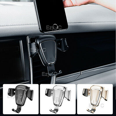 Universal Car Air Vent Mount Phone Gravity Holder For iPhone GPS Samsung S8 Plus