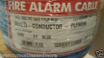 Southwire/Tappan G40006 575614 18/2C Sol Shield Blue Fire/Comm Cable FPLP /100ft