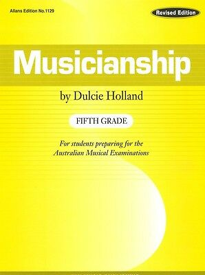 Musicianship Fifth Grade by Dulcie Holland - Music Theory Book