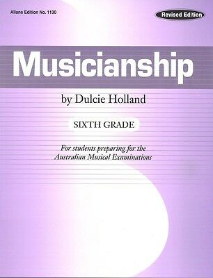 Musicianship Sixth Grade by Dulcie Holland - Music Theory Book