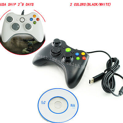 USB2.0 Wired Gamepad Game Gaming Controller Joypad Joystick for PC Computer