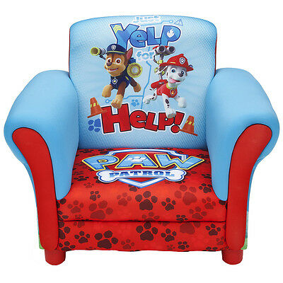 Paw Patrol Upholstered Chair - NEW