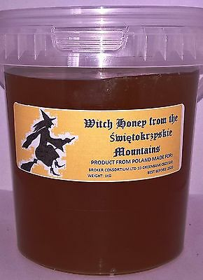 "1,5 Kg Wildflower Mountain ""witch"" Honey 100% Natural Raw Pure From Apiary"