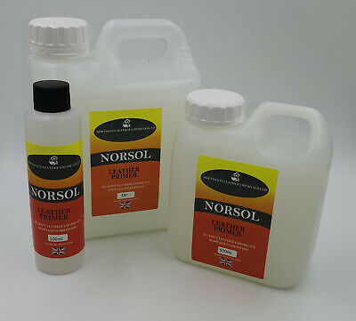 NORSOL Leather Primer for adhesion of leather colourants