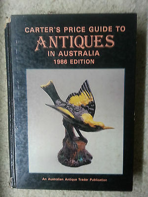 Carter's Guide to Antiques in Australia 1986 Edition