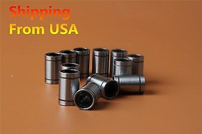 12PCS X LM8UU 8mm Linear Ball Bearing Bush Bushing for 3D Printer CNC US