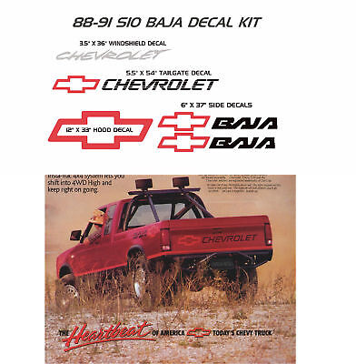 CHEVROLET CHEVY S-10 S10 Cameo Syclone Typhoon Sonoma Gt Gmc Ss
