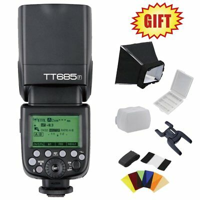 Godox TT685F 2.4G Wireless E-TTL II HSS 1/8000s Flash Speedlite fr Fujifilm DSLR