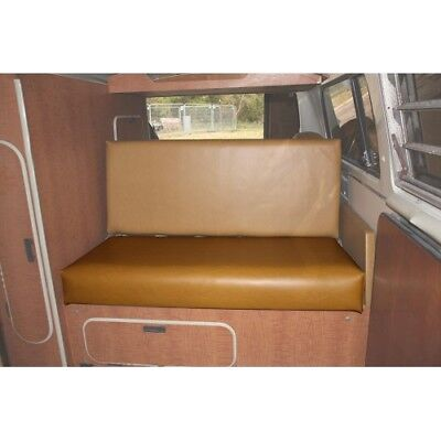 Westfalia Mustard vinyl rock and roll seat bottom cover for early bay 1919 C9487
