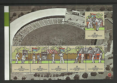 AUSTRALIA 2007 CENTENARY TEST 1977 Souvenir Sheet 45c IMPERF Mint Never Hinged