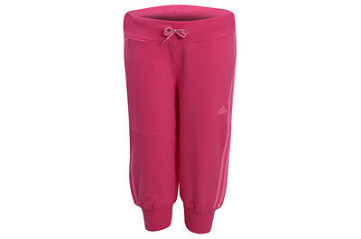 Adidas Girls BQ 3/4 Knit Pants. Adidas Junior Girls Tracksuit Bottoms. Bottoms