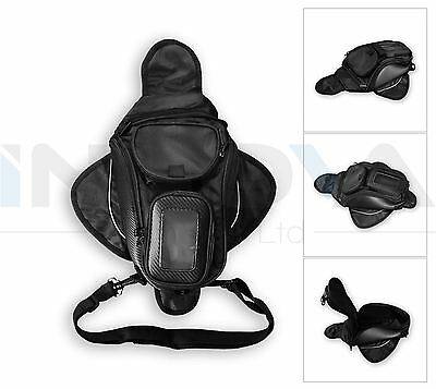 Motorcycle Aero Sports Magnetic Tank Bag Gps Phone Pouch Motorbike Bike Travel