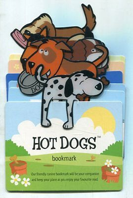 Job lot assorted 'Hot Dogs' bookmarks