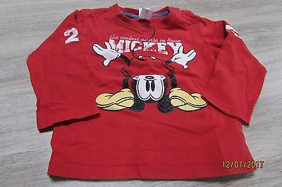 t shirt lm mickey taille 86 c&a bte d1