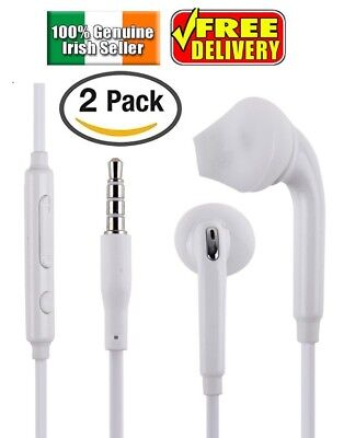 2 PACK High Performance Earphones EarBuds for Apple iPhone Headphones With Mic