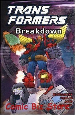 Transformers Breakdown Trade Paper Back (2004) Titan Comics